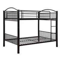 ACME Cayelynn Full over Full Bunk Bed, Black