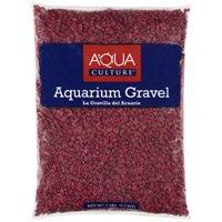 (3 Pack) Aqua Culture Red Chip Aquarium Gravel Fish & Aquatic Pet Gravel, 5LB, Red
