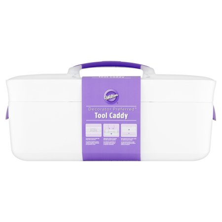 Wilton Decorator Preferred Cake Decorating Supplies Caddy, Baking Tool Storage