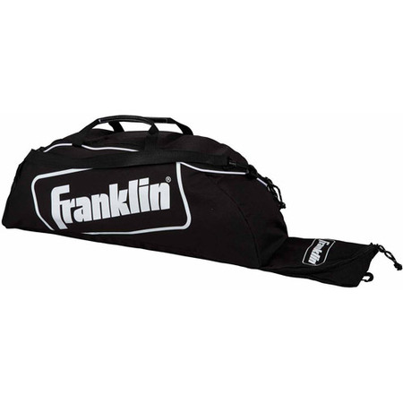 Franklin Sports Junior Size Baseball Equipment Bag, Black