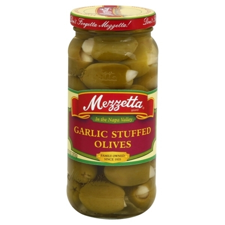GL Mezzetta Mezzetta Stuffed Olives, 10 oz