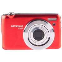 Polaroid 18.0 Megapixel Digital Camera - 10x Optical/4x Digital - 2.7-inch TFT LCD Display - Red