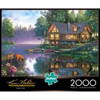 Buffalo Games Kim Norlien Cabin Fever 2000 Piece Jigsaw Puzzle
