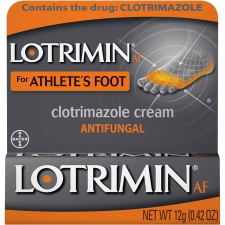 Baza Cream Antifungal Barrier - Lotrimin AF Athlete's Foot Antifungal Cream, 0.42 Ounce Tube