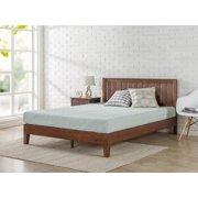 Zinus Queen 12 Inch Deluxe Solid Wood Platform Bed with Headboard
