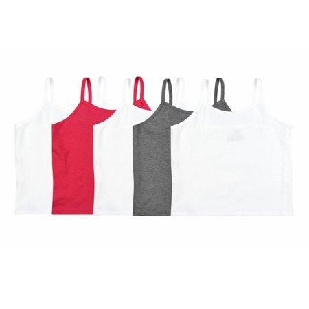 Safari Cami - Hanes Girls' Cotton Camis 5 pack