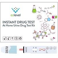 EZ Level Marijuana THC Single Panel Drug Screen Test Kit Dip Card (15 Tests)