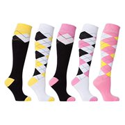 82a55f3eeb4 Socks n Socks - Women s 5-pairs Luxury Cotton Cool Funky Colorful Fashion  Designer Fun