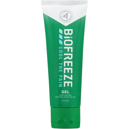 - BIOFREEZE Pain Relief Gel, 3 fl oz