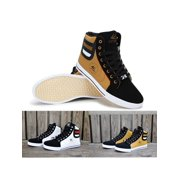 new product c24d6 1f049 Meigar Mens Casual Shoes Sneakers High Top Lace up Sport Basketball Shoes