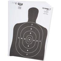 "Eze-Scorer™ 12"" x 18"" BC 27 Black Paper 10 targets"