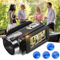 FLOUREON HD 1080P Camcorder Digital Video Camera DV 2.7 TFT LCD Screen 16x Zoom 270 Degrees Rotation for Sport /Youtube/Short Films Video Recording, Black