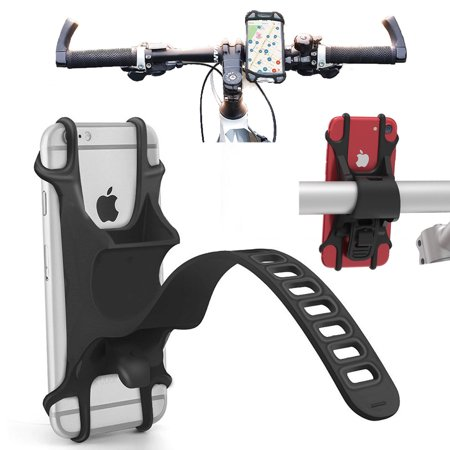 Agoz Universal Bike Cell Phone Holder Adjustable Motorcycle Bicycle Handlebar Mount for ZTE Blade X, Blade V8 PRO, Blade Spark, ZMAX Champ, Zfive L, Axon M, Axon 7, Majesty Pro, Avid 916, Grand X4/X3