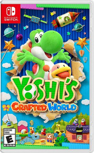 Yoshi's Crafted World, Nintendo, Nintendo Switch, 045496593919