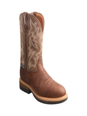 Men's Twisted X Boots MLCCW03 Lite Cowboy Work Pull On B Toe Boot