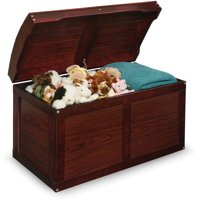 Badger Basket Hardwood Barrel Top Toy Chest, Multiple Colors