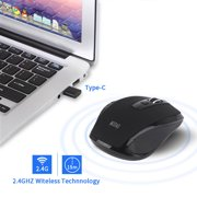 Iuhan MODAO 2.4GHZ Type C Wireless Mouse USB C Mice For Macbook/ Pro USB