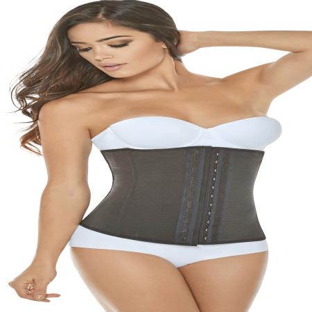 ShapEager Fajas Mujer Para Bajar de Peso - Women Slim Latex Shaper Thermal Corset - Conejitas Para Halloween