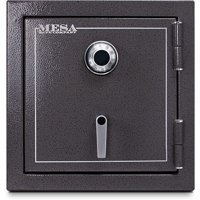 Mesa Safe MBF2020C Fire Resistant Security Safe with Mechanical Lock, Hammered Grey