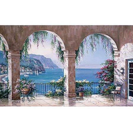 Mediterranean Mural (Mediterranean Photo Mural)