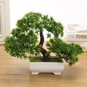 Meigar Artificial Bonsai Tree With Pot And Plant Decoration For Home Office Desk Decor
