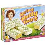 Little Debbie Family Pack Spring Nutty Bars Snack Cakes, 7.56 oz