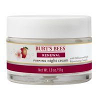 Burt's Bees Renewal Night Cream, Firming Night Cream, 1.8 oz