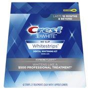 Crest 3D White Whitestrips Supreme FlexFit Teeth Whitening Kit, 21 Treatments