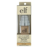 e.l.f. Cosmetics Beautifully Bare Foundation Serum, Fair/Light