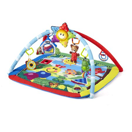 Parrot Play Gym (Baby Einstein Activity Gym and Play Mat - Caterpillar & Friends )