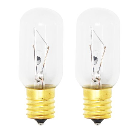 2-Pack Replacement Light Bulb for General Electric WB02X4253 Microwave - Compatible General Electric WB36X10003 Light Bulb