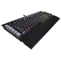 Corsair K95 RGB PLATINUM Mechanical Gaming Keyboard, Backlit RBG LED, Cherry MX Speed, Black