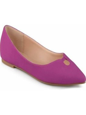 Womens Pointed Toe Classic Flats