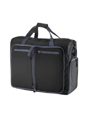 Duffle Gym Bag - Luggage Tote for Overnight / Weekend Trips - Includes Shoe Compartment and Outer Pockets for Storage by Wakeman Outdoors
