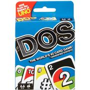 DOS Card Game From the Makers of UNO for 2-4 Players Ages 7Y+