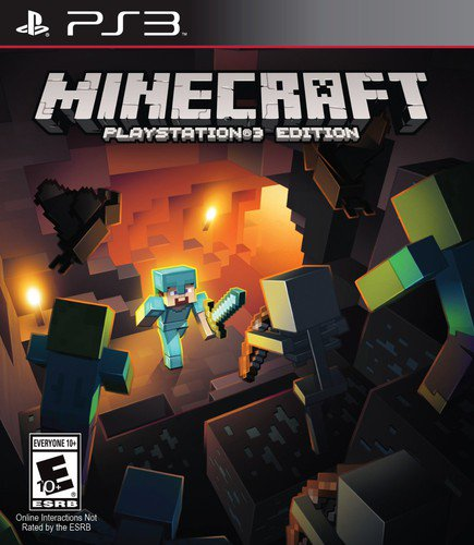 Minecraft, Sony, PlayStation 3, 711719051329 (Best Ps3 Games By Year)