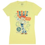 591450fcd91c44 Disney Pixar Juniors' Toy Story Shirt Jessie Retro Poster Graphic T-Shirt