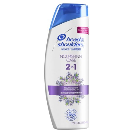 Head and Shoulders Nourishing Hair & Scalp Care 2in1 Dandruff Shampoo and Conditioner, 12.8 fl oz