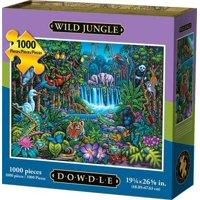 Dowdle Jigsaw Puzzle - Wild Jungle - 1000 Piece