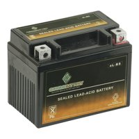 YTX4L-BS ATV Battery for AEON (BENZAI) Cobra/CX-Sport 100 100CC All Years