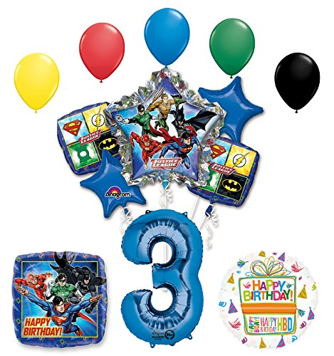16pc DC Comic Justice League Treat Favor Birthday Party Loot Candy Gift Bags