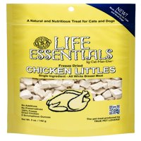 Life Essentials Chicken Littles Freeze Dried Cat & Dog Treats, 5 oz.