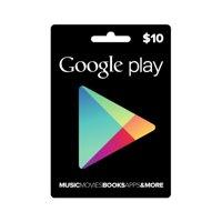 Google Play $10 Card