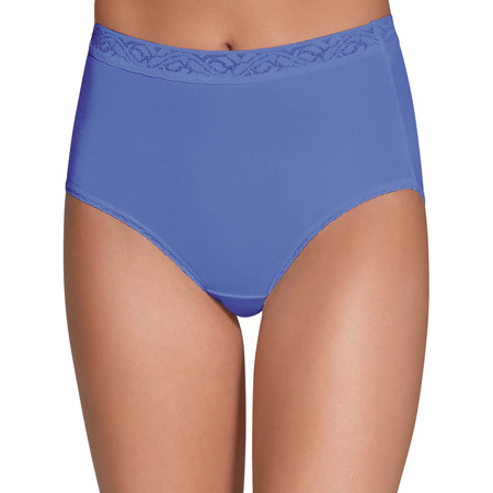 Women's Assorted Nylon Brief Panties - 6 Pack ()