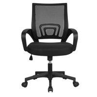 Smilemart Adjustable Mid Back Mesh Swivel Office Chair w/Armrests Deals