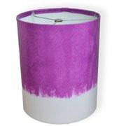 10 Drum Lamp Shade Pink Purple Watercolor