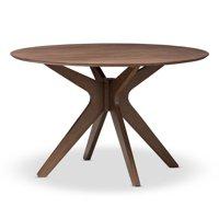 Baxton Studio Monte Round Dining Table