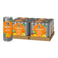 (24 Cans) V8 +Energy Orange Pineapple, 8 Fl Oz