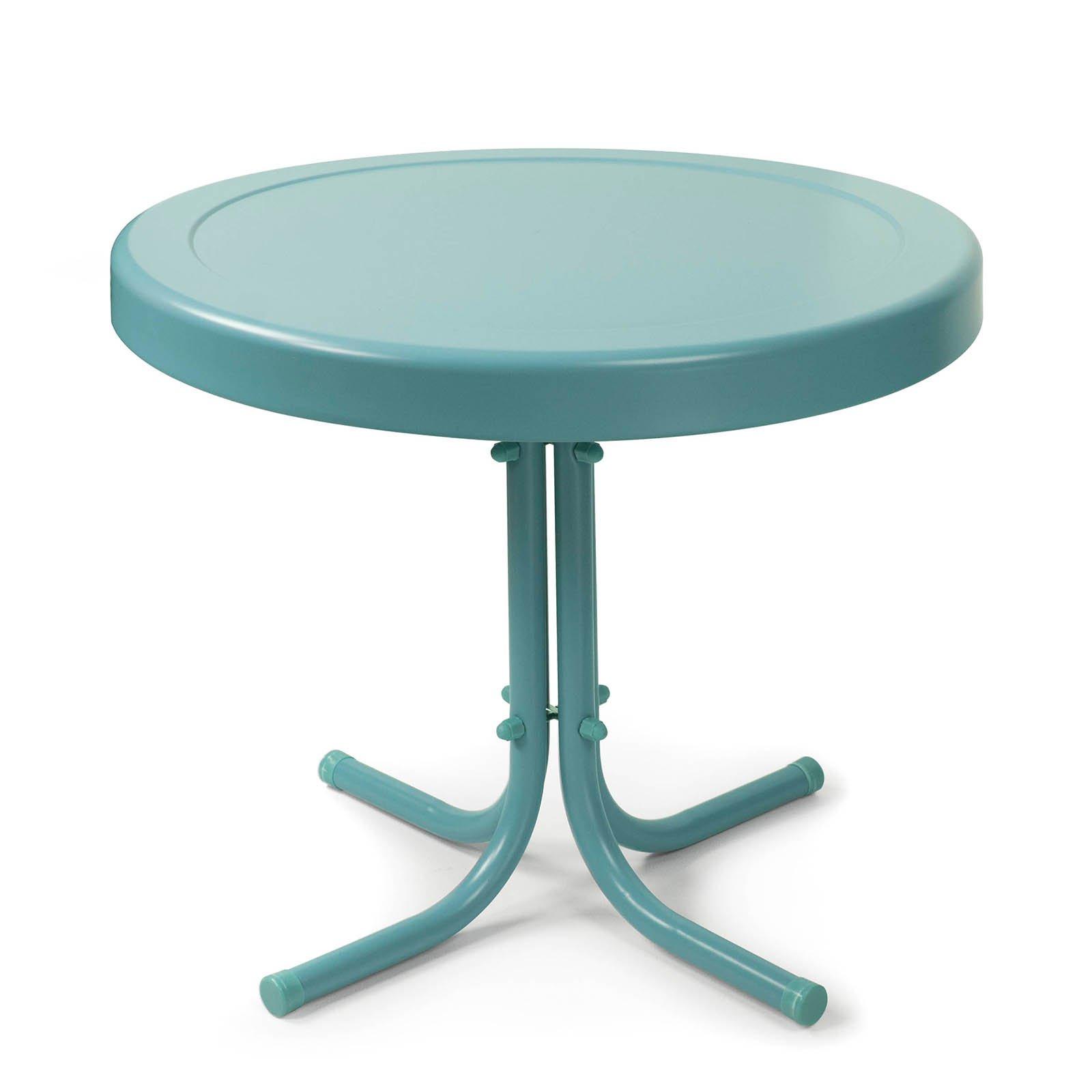 Merveilleux Metal Round Patio Tables