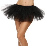 d7565251912 Women s 5-layered Tulle Tutu Party Dance Skirt Ballerina Dress Petticoat